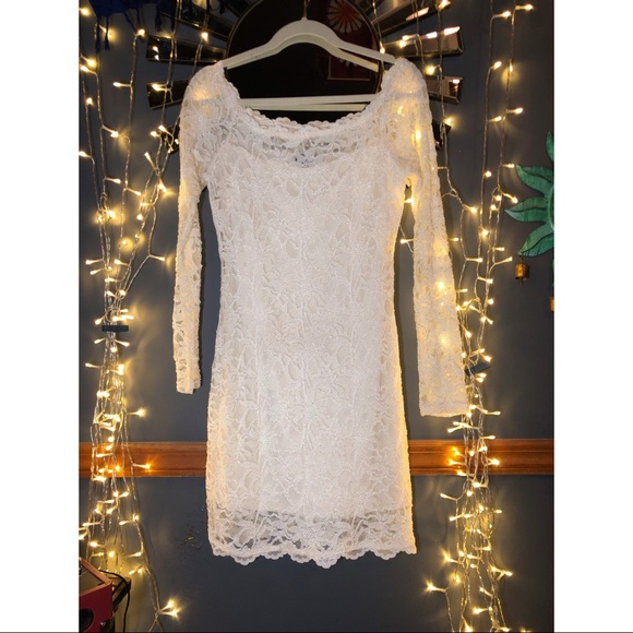 Lacey Offwhite Dress